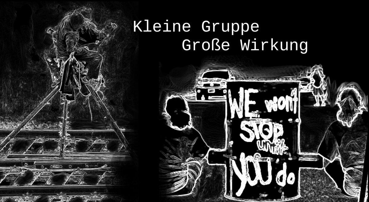 Aktionstraining: Kleine Gruppe, Große Wirkung